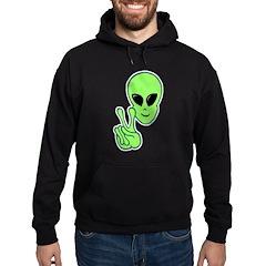 Peace Alien Hoodie