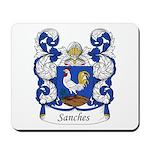Sanches Family Crest Mousepad