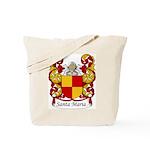 Santa Maria Family Crest Tote Bag