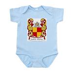 Santa Maria Family Crest Infant Creeper