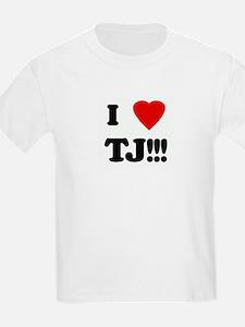 I Love TJ!!! T-Shirt