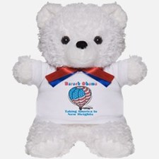 Taking America To New Heights Teddy Bear