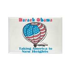 Taking America To New Heights Rectangle Magnet