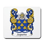 Sequeira Family Crest Mousepad