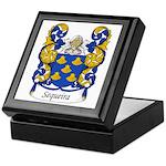 Sequeira Family Crest Keepsake Box