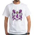 Silva Family Crest White T-Shirt