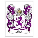 Silva Family Crest Small Poster