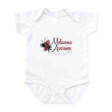 Melanoma Awareness 1 Butterfly 2 Infant Bodysuit