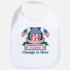 Obama: Change Is Here Bib