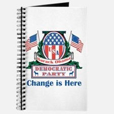 Obama: Change Is Here Journal