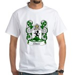 Simoes Family Crest White T-Shirt