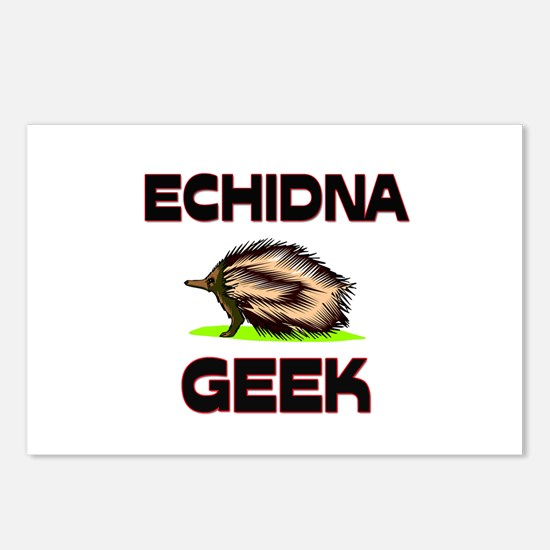 Echidna Geek Postcards (Package of 8)