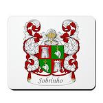 Sobrinho Family Crest Mousepad
