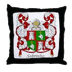 Sobrinho Family Crest Throw Pillow