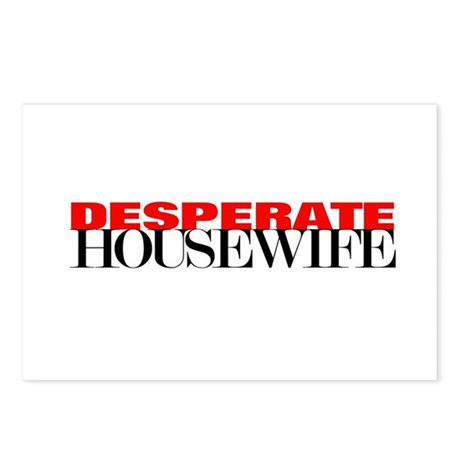 """""""desperate"""" Postcards (Package of 8)"""