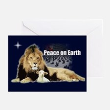 Peace on Earth for the Religi Greeting Cards (Pack