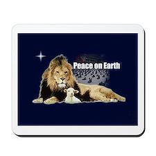 Peace on Earth for the Religi Mousepad
