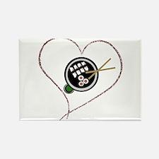 Riyah-Li Designs Sushi Love Rectangle Magnet