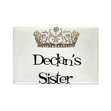 Declan's Sister Rectangle Magnet