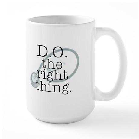 DOtherightthingstethoscope Mugs