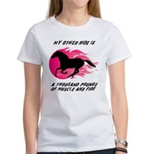 My Other Ride Is A Horse Tee