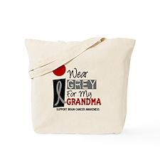 I Wear Grey For My Grandma 9 Tote Bag