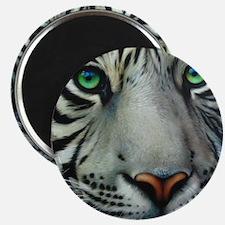 White Tiger Magnet