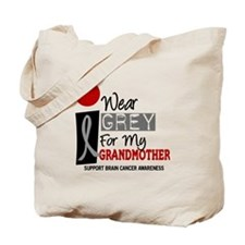 I Wear Grey For My Grandmother 9 Tote Bag