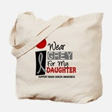 I Wear Grey For My Daughter 9 Tote Bag