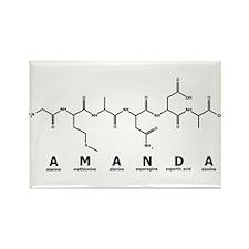 Amanda Peptide Rectangle Magnet
