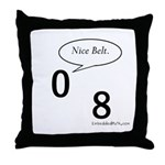 Nice Belt - Throw Pillow