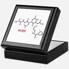 Aldo name molecule Keepsake Box