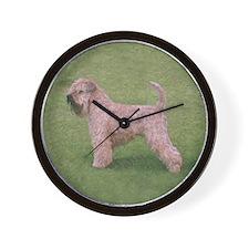 Unique Irish terrier Wall Clock