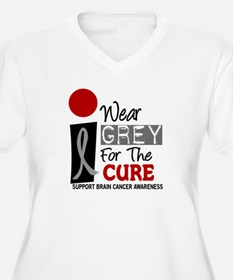 I Wear Grey For My Dad PD 9 T-Shirt