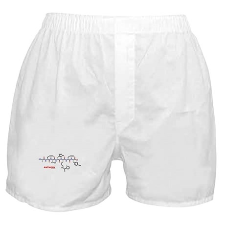 Anthony name molecule Boxer Shorts