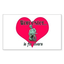Turtleboy Worcester is for Lovers Decal