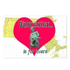 Turtleboy Worcester is for Lovers Postcards (Packa