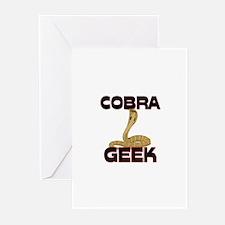 Cobra Geek Greeting Cards (Pk of 10)