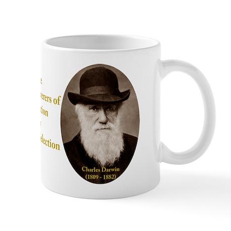 Wallace & Charles Darwin Mug