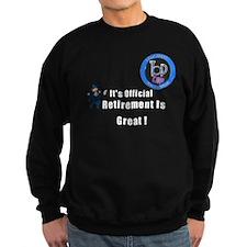 Police Retirement Designs Sweatshirt