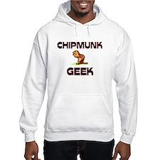 Chipmunk Geek Hoodie