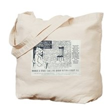 Norman Stacey Tote Bag