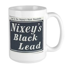Nixey's Black Lead Mug