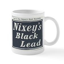 Nixey's Black Lead Mug