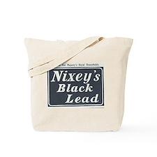 Nixey's Black Lead Tote Bag