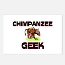 Chinchilla Geek Postcards (Package of 8)