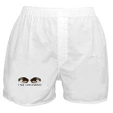 i see crackheads Boxer Shorts