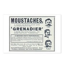 Grenadier Moustaches Postcards (Package of 8)