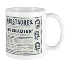 Grenadier Moustaches Mug