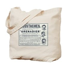 Grenadier Moustaches Tote Bag